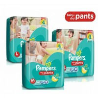 harga PAMPERS BABY DRY PANTS M30 / L26 / XL22 elevenia.co.id