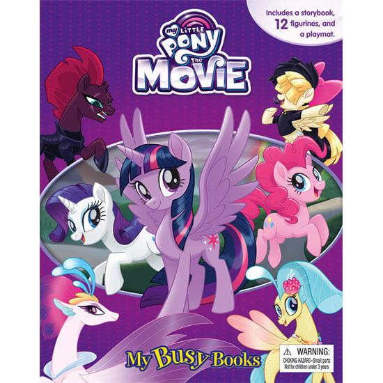harga BUKU MY BUSY BOOK MY LITTLE PONY THE MOVIE - STORY BOOK & 12 FIGURINE elevenia.co.id