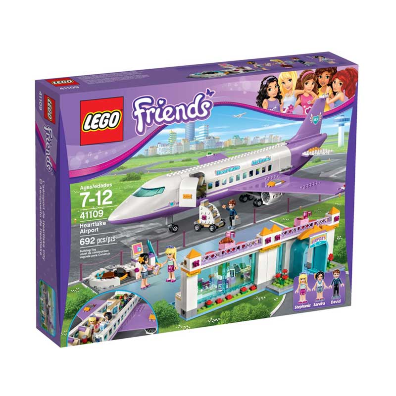 harga LEGO Sands Lego 41109 Friends Heartlake City Airport Mainan Blok & Puzzle elevenia.co.id