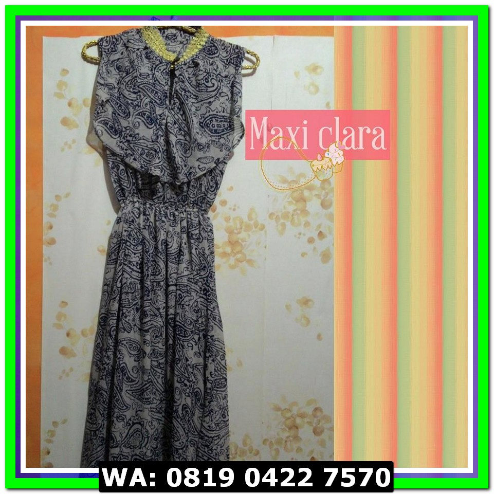 harga (Maxi Dress) MAXI CLARA elevenia.co.id