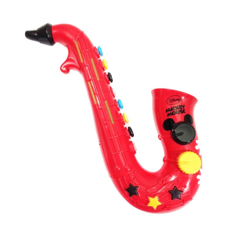 harga Disney Happy toon Mickey's Triple Sounds Saxophone Permainan Musikal elevenia.co.id