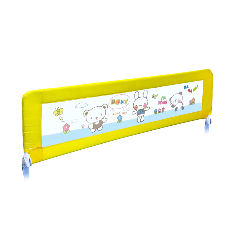 harga Twomother Infant Baby Bed Safety Guard Rail - Yellow Bear [180 cm] elevenia.co.id