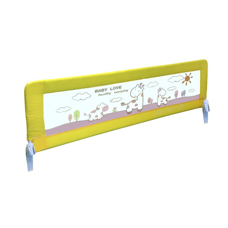 harga Twomother Infant Baby Bed Safety Guard Rail - Yellow Deer [150 cm] elevenia.co.id