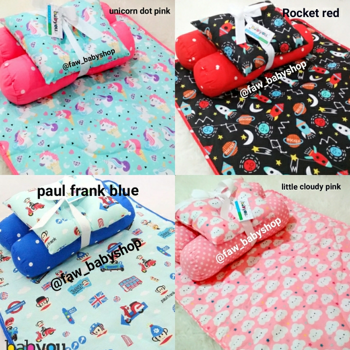 harga Matras Perlak Baby You/ Bedding set guling bantal peang/Set kasur bayi elevenia.co.id