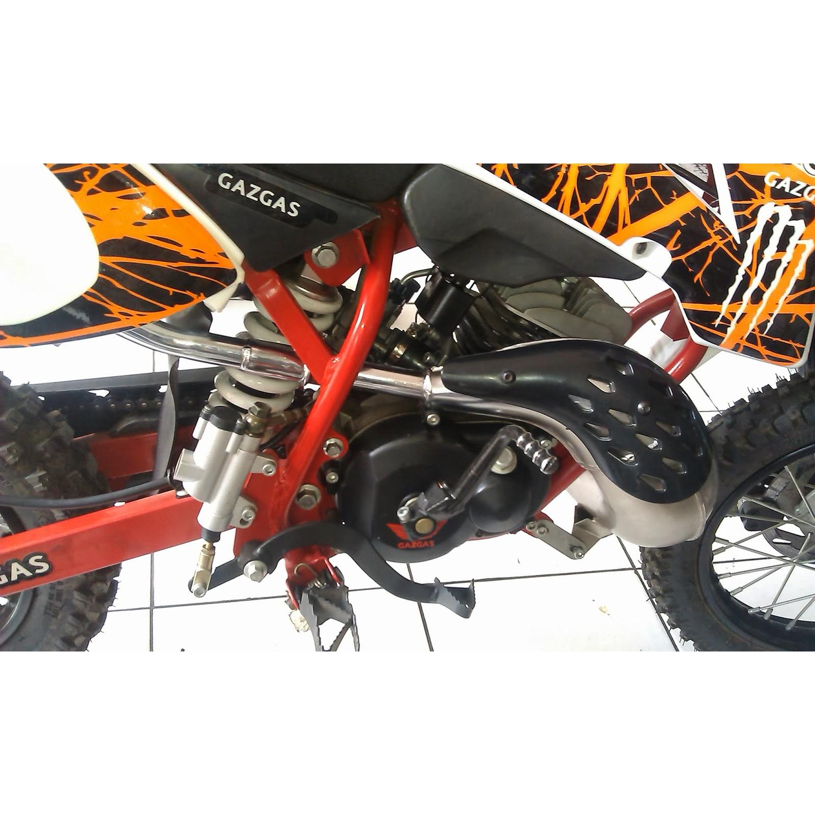 harga Gazgas Mini Trail 50cc/2 Tak/Mesin Motor (Matic) elevenia.co.id