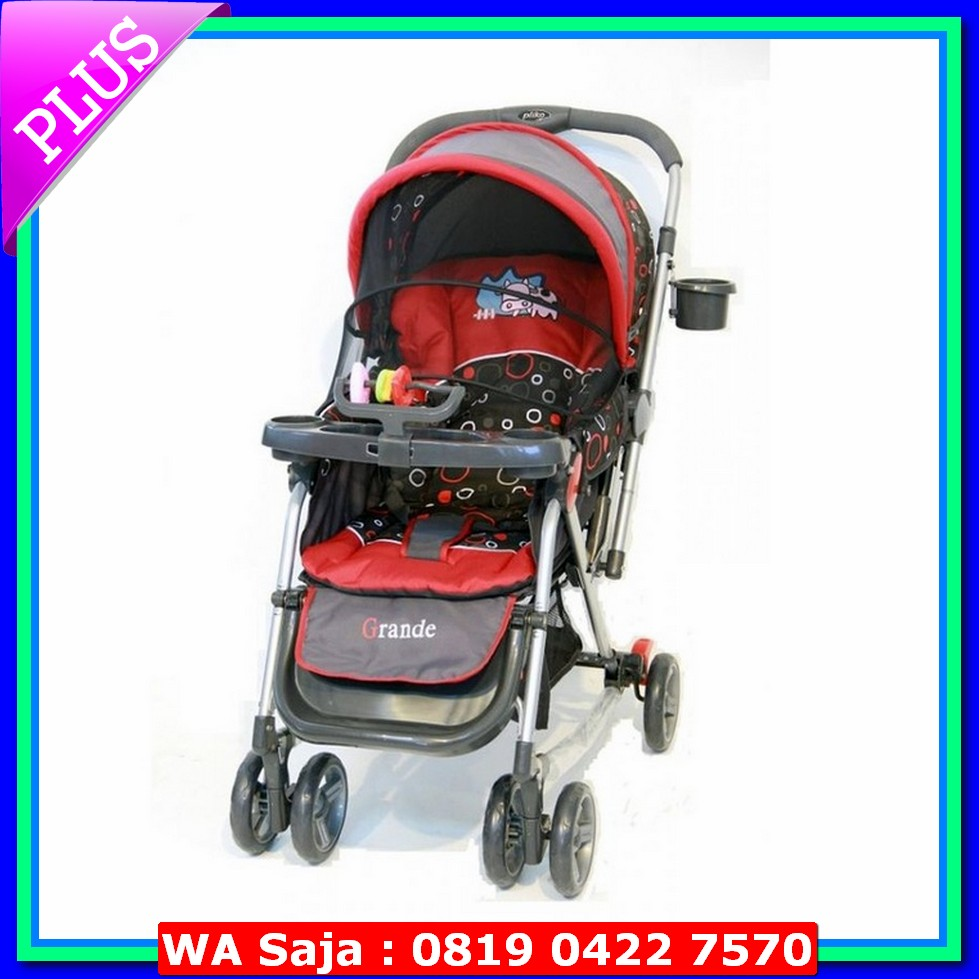 harga Baby Stroller Stroller Pliko Grande With 4 in 1 Features elevenia.co.id