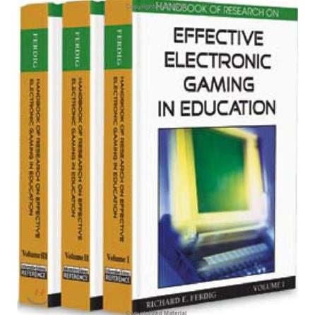 harga Handbook of Research on Effective Electronic Gaming in Education (3 Volumes) ( Hardcover ) elevenia.co.id
