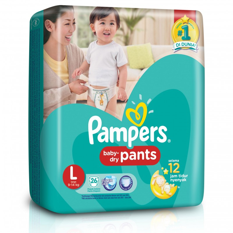 harga Pampers Baby Dry PantsL26 elevenia.co.id