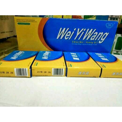 harga Obat Diabetes Herbal Wei Yi Wang elevenia.co.id