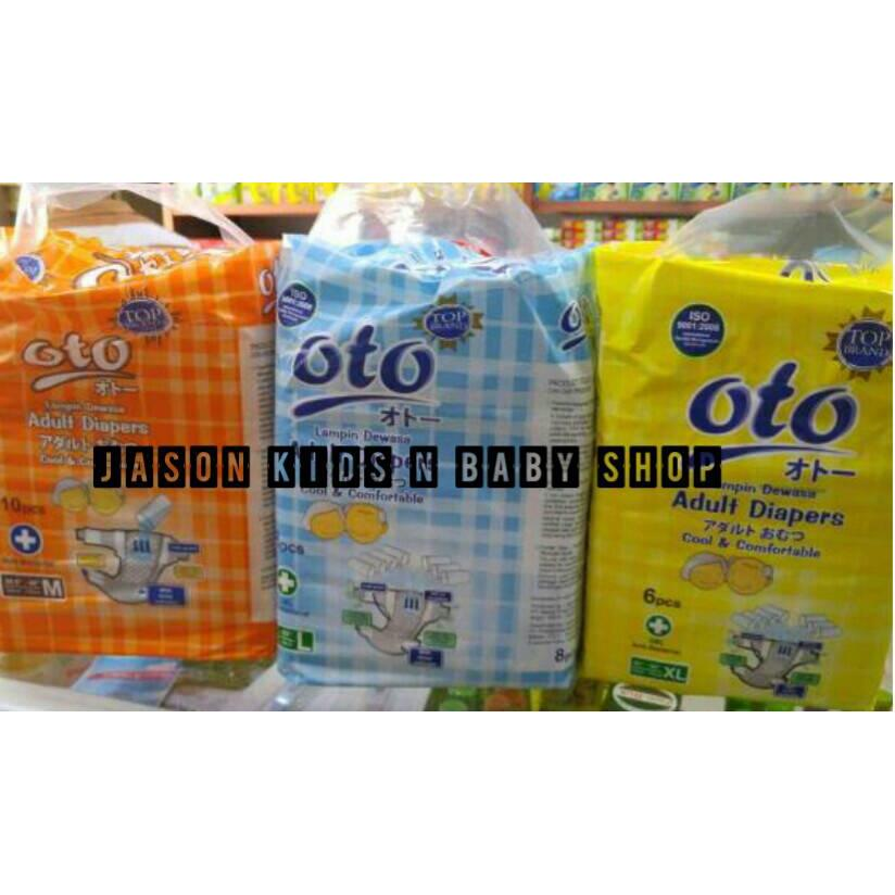 harga Pampers dewasa/Adult pampers Oto ukuran M, L, XL elevenia.co.id