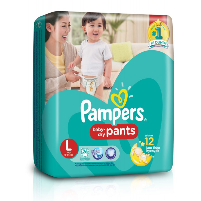 harga Pampers Baby Dry Pants L26 elevenia.co.id