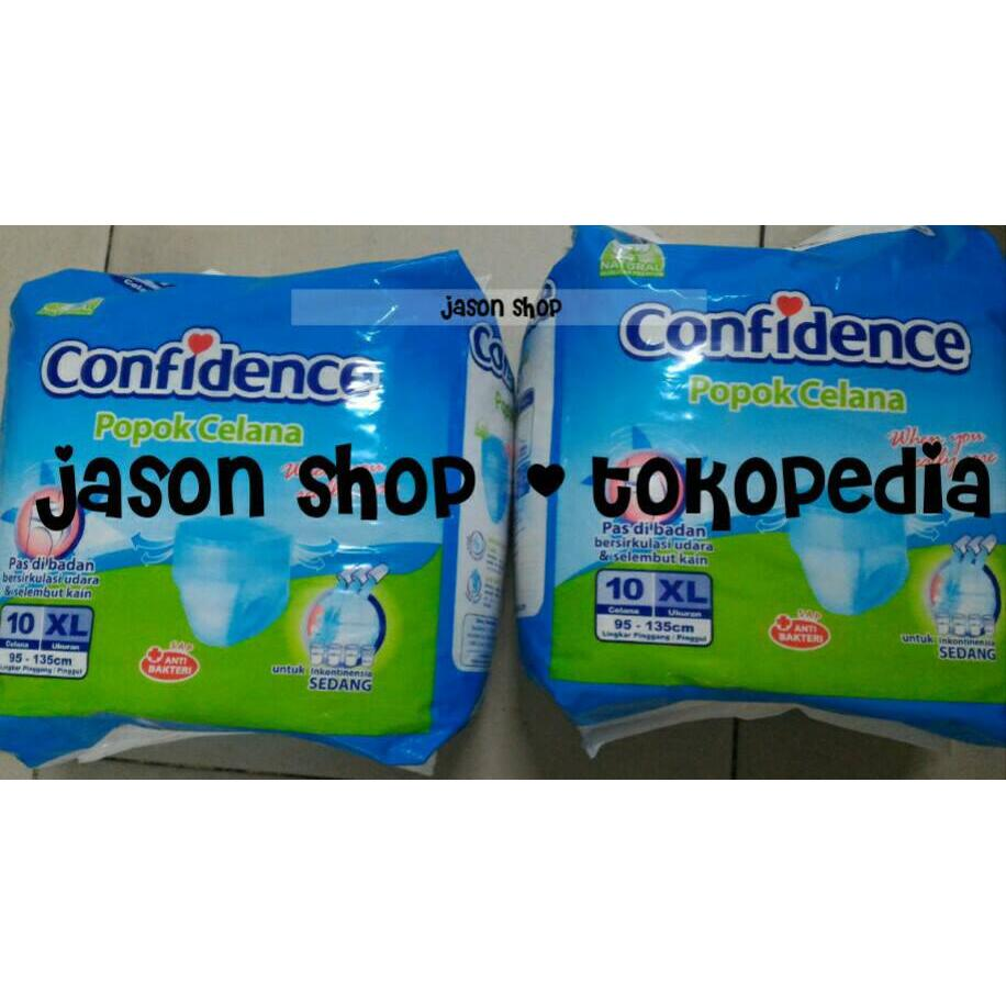 harga Pampers dewasa/popok/Adult Diapers Pants Confidence size XL isi 10 pcs elevenia.co.id