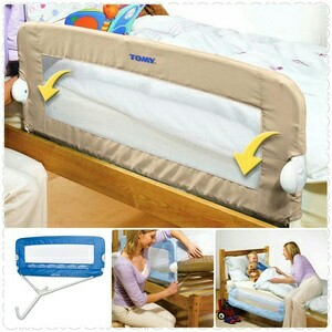 harga pengaman kasur bed rail first year elevenia.co.id