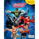 Buku Anak MY BUSY BOOK JUSTICE LEAGUE