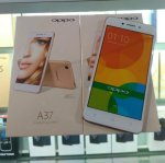 Oppo A37f Gold Rose