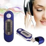 [globalbuy] Digital MP3 PLAYER LCD SCREEN WMA USB MUSIC PLAYER WITH RADIO VOICE RECORDER 4/2398104