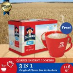 [Buy 1 Free Mug] Quaker 3 in 1 Original Box 12s