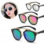 Tiaria Retro Fashionable Sunglasses Unisex / Kacamata Gaya Retro | Black Frame / Anti UV400
