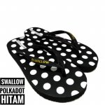 89Stories - Sendal Jepit Swallow Nice Polkadot