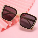 Kacamata Fashion Wanita Square Sun Glasses (3B3) jgl149