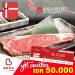 Kintan Buffet Voucher Rp 50.000 - Boga Group