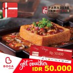 Paradise Inn Voucher Rp 50.000 - Boga Group