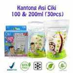 Kantong ASI Steril Ciki 100ml & 200ml isi 30pcs Temperatur Sensor - Breastmilk Storage Bag BPA FREE Babymaniahsop