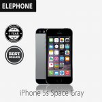 Apple iPhone 5S 16 GB Gray Smartphone {factory certified refurbish grade A+} + FREE SOFTCASE