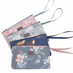Charming Water Resistant Cosmetic Hand Folding pouch/ Tas Kosmetik Cantik