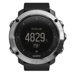 Suunto Traverse Black Outdoor Watches With GPS/GLONASS