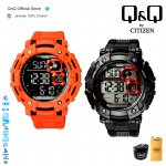 Q&Q QnQ QQ Original Jam Tangan Pria Digital Sport Watch- M150 M150J Water Resist