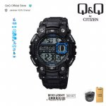 Q&Q QnQ QQ Original Jam Tangan Pria Digital Casual - M161 M161J Water Resist