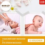 Mom n jo Voucher Baby Massage + Eye Strain Massage