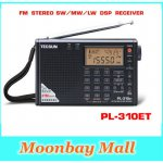 [globalbuy] TECSUN PL-310ET World Full Band Shortwave RADIO FM AM MW SW LW DSP Receiver Di/2685653