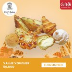 Chef's Bakery Voucher Value 50.000