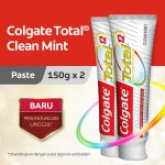 Colgate Total Professional Clean Mint Toothpaste/Pasta Gigi 150gr - Twin Pack