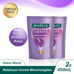 Palmolive Aromatheraphy Absolute Relax Shower Gel Sabun Mandi 450ml - Twinpack