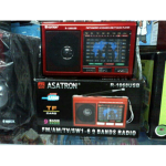 Radio Asatron R-1068 Am/fm/sw1-6 9band Radio Usb/sd