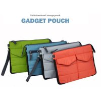 Gadgets Pouch Tablet Storage Multifungsi untuk Digital Products Organizer Bag in Bag