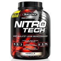 Muscletech Nitrotech Performance Series 4lb Supplement Fitness Whey Protein