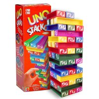 UNO STACKO - BALOK SUSUN - EDUKASI GAME - BEST OFFER