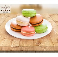 MAQUI'S Macaroon : Chocolate/ Strawberry/ Vanilla/ Green Tea/ Blueberry/ Pineapple