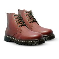 D-Island Shoes Ladies Boots Cute Brown [Brown Leather]