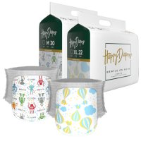 Happy Diapers Hot Air Balloons / Robot - M 30 / XL 22
