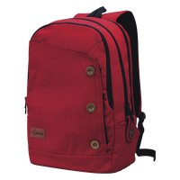 Tas Ransel Laptop Merah + Rain Cover - Original Catenzo ST 033
