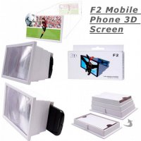 Pembesar Layar Smartphone 3D model Kotak | F2 Screen Enlarger