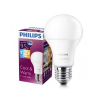 PHILIPS Scene Switch LED Bulb 9.5W - 1 Lampu 2 Warna! Putih dan Kuning