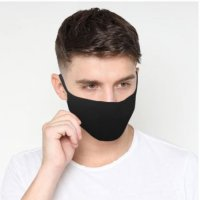 Masker Kain 2 Lapis Bahan Cotton Combed 30s Bisa Dicuci READY STOCK