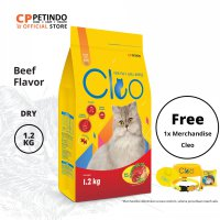 CPPETINDO CLEO Adult Beef Cat Food -1,2kg