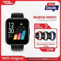 Realme Watch [Large Color Touchscreen] Free Realme Wacth Strap